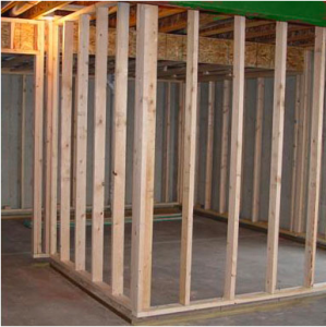 framing walls 299x300 10 Most Common Home Improvement FAQs and Answers
