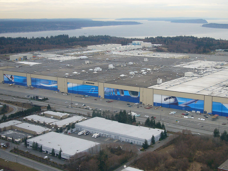 Boeing Everett Plant The World's Biggest Buildings!