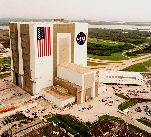 NASA Vehicle Assembly Building The World's Biggest Buildings!