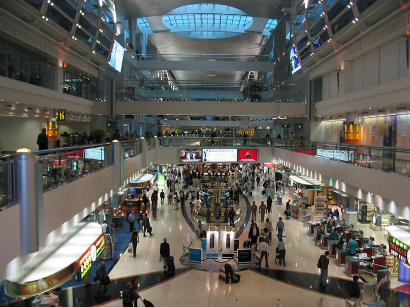 dubai airport The World's Biggest Buildings!