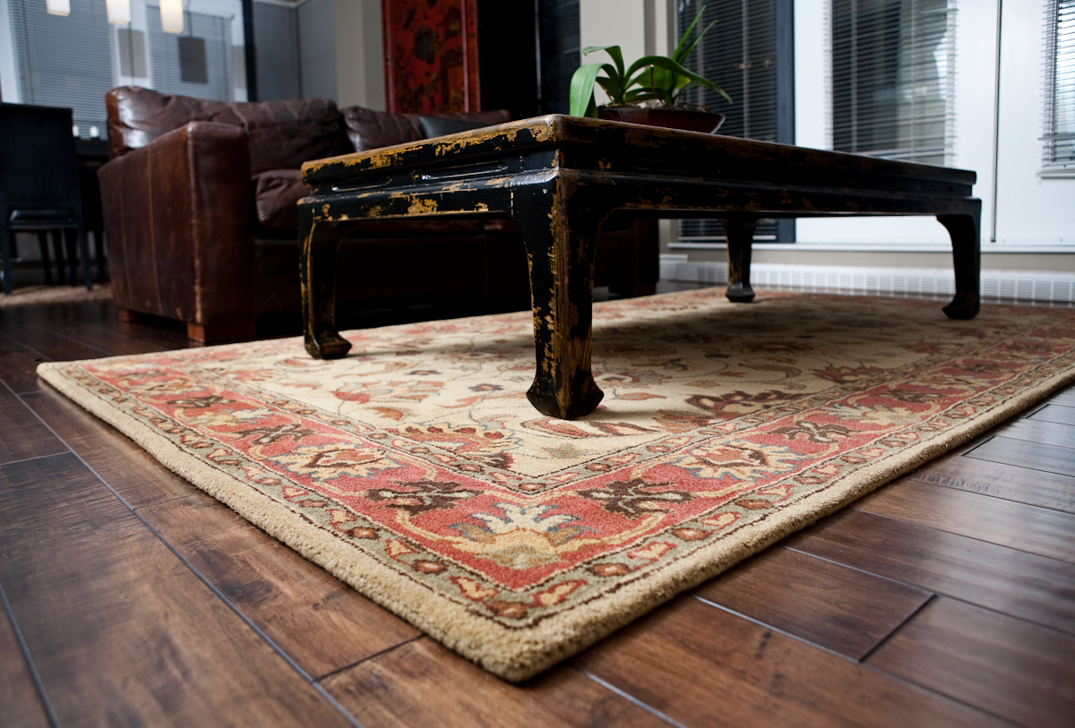 the story of area rugs