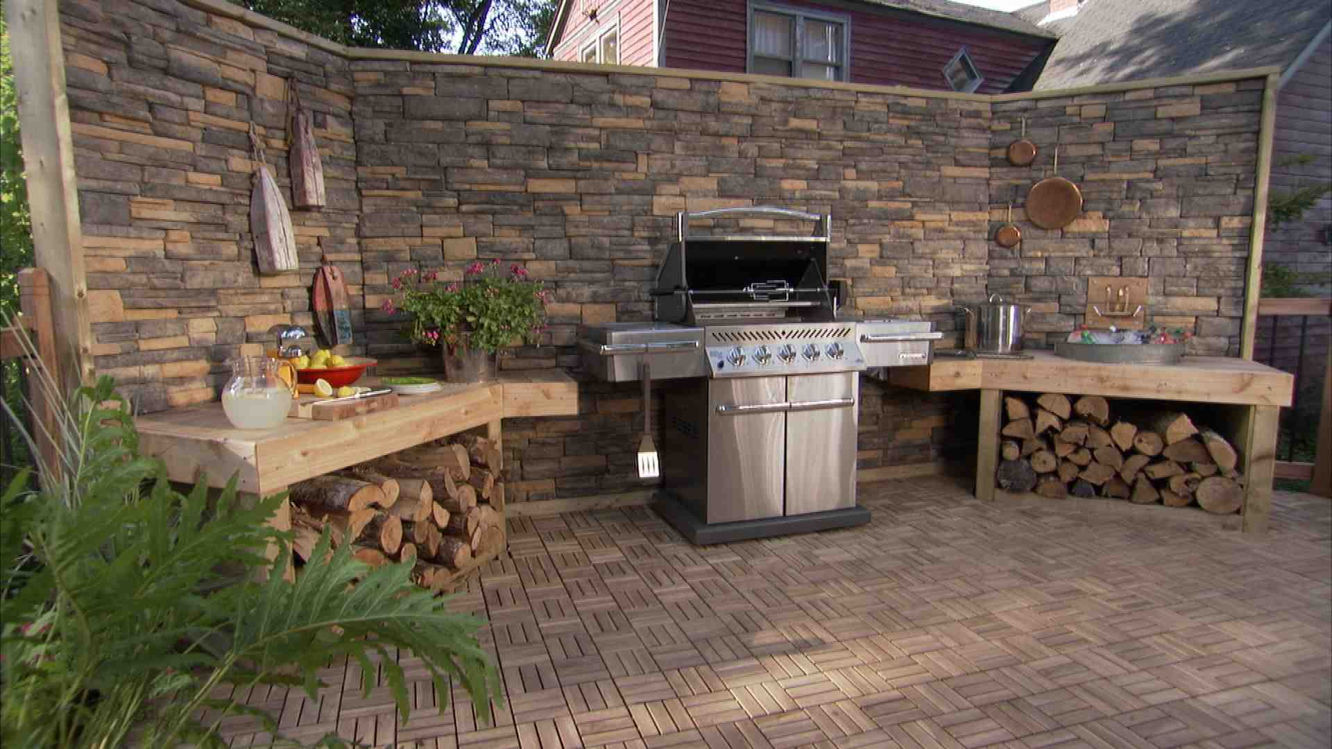 Attirant What A Great BBQ Area For A Labor Day Party! | Backyard Ideas | Pinterest |  Backyard Bbq, Labor Day And Backyards