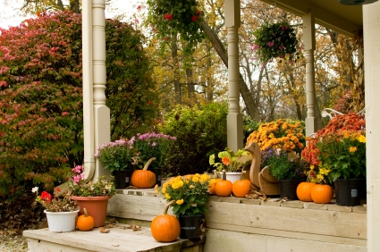 Decorating For Fall: The Front Porch