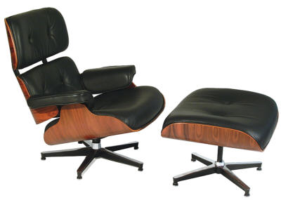 Eames lounge chair Mid Century Modern Design