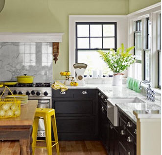 Easy kitchen updates for a lazy weekend for Kitchen accent colors