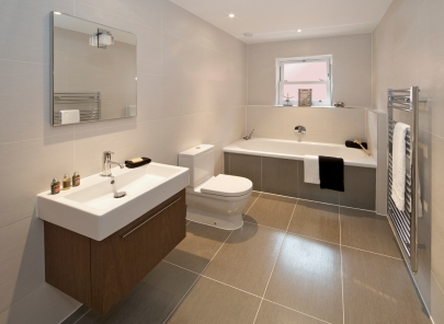 Bathroom on Stone Flooring In Bathroom Bathroom Flooring Options For Practicality