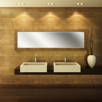 Custom mirrors how they can transform your space for Custom made bathroom mirrors