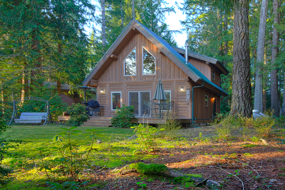 Building a home in the woods for How much to build a house in nc