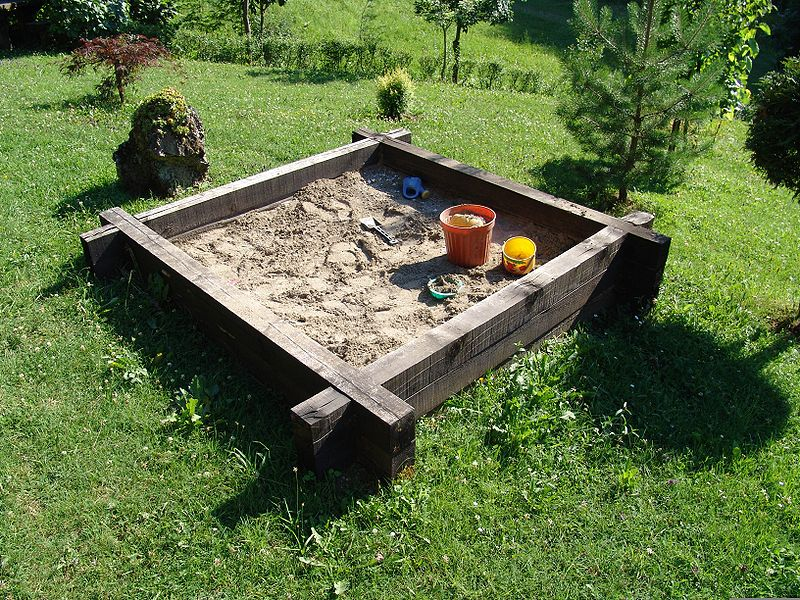 Backyard Sandbox : Free Plans for Backyard Sandboxes & Sandpits