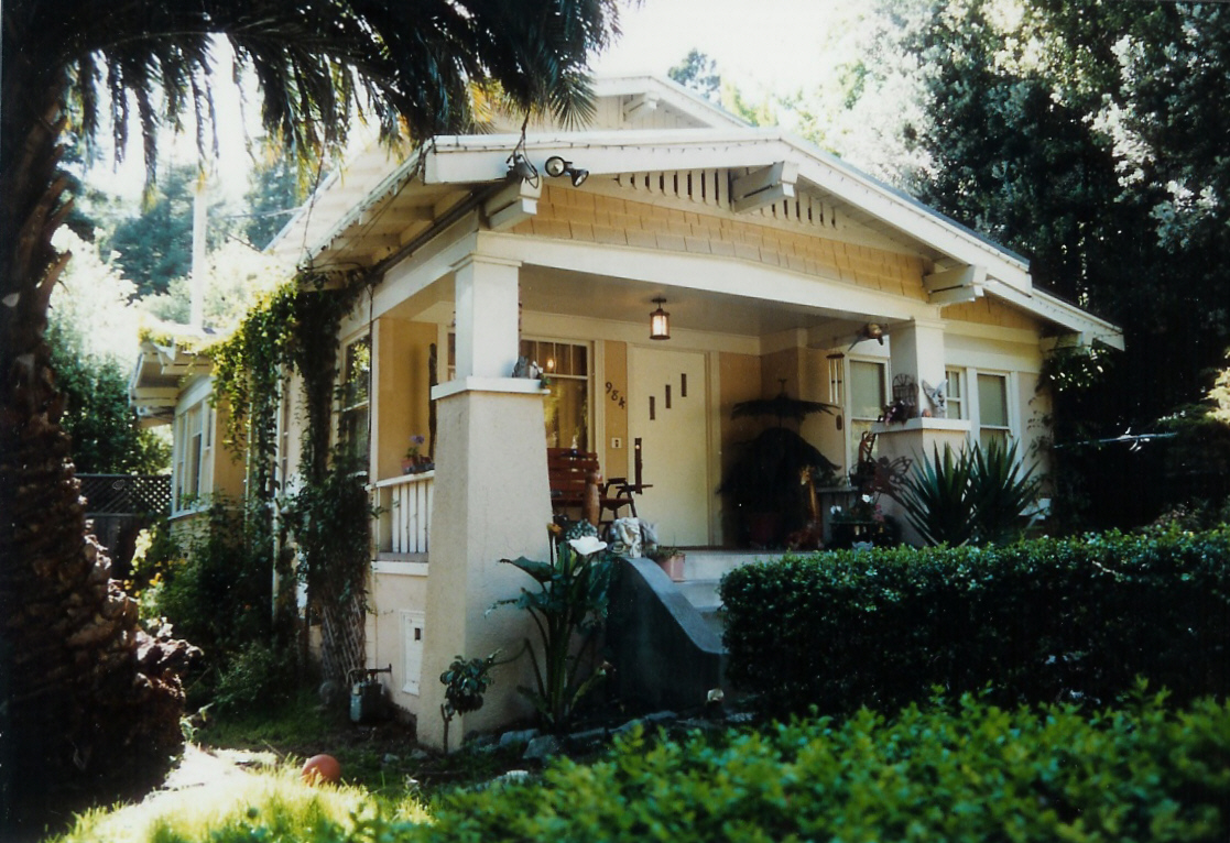California Bungalow Style Homes