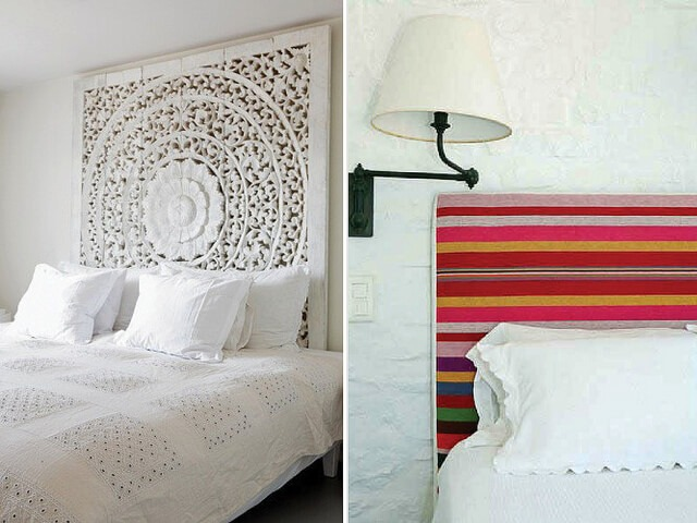 Diy headboards 6 cool directions to take for Cool diy headboards