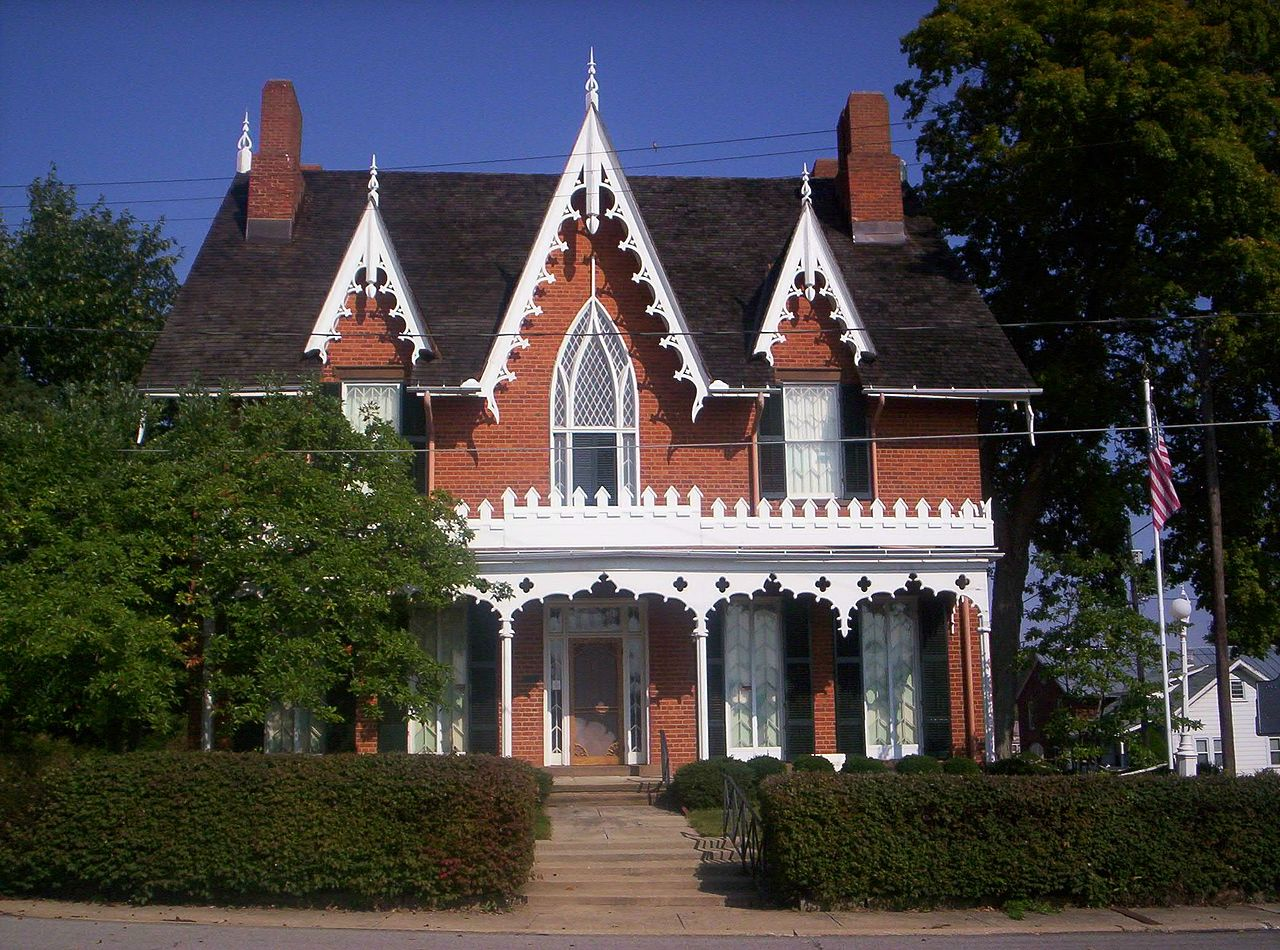 Gothic Revival House Plans Moreover Gothic Revival House Plans