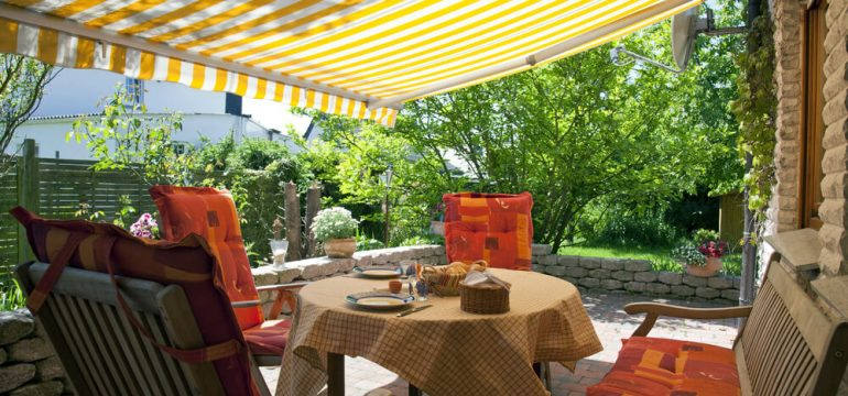 autumn outdoor living terrace awning