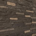 faux stone brick pattern panels