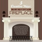 ways to use your empty fireplace thumb