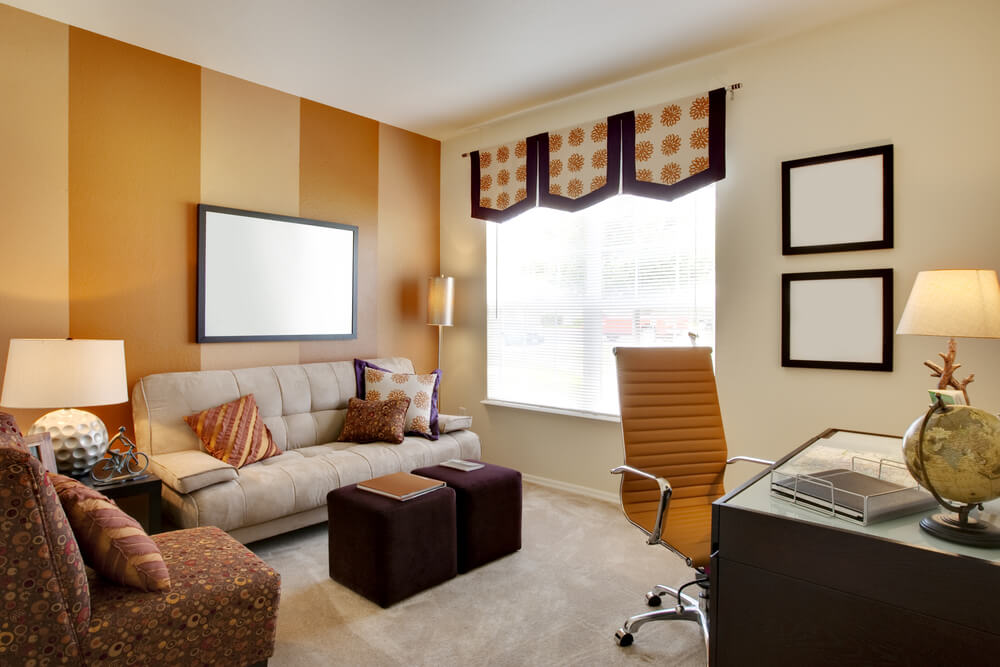 Accent wall ideas for fall for Accent housing