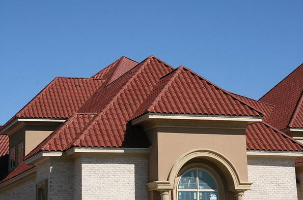 Roof tile spanish tiles roof for Spanish clay tile roof
