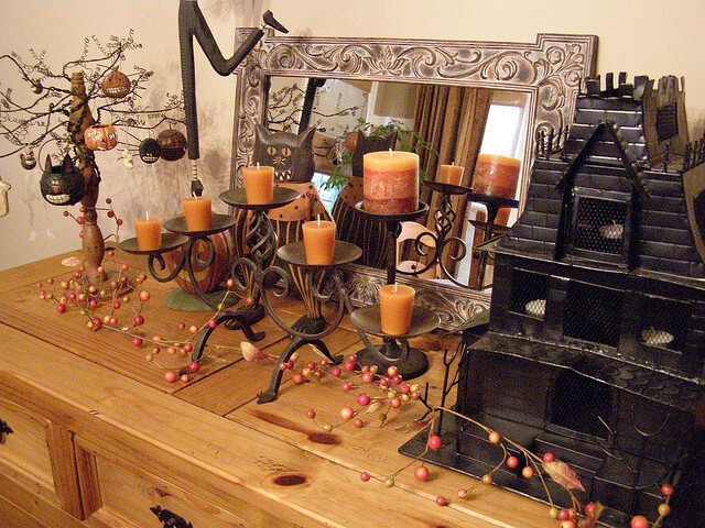 5 ways to tastefully decorate for halloween for Decoration zone