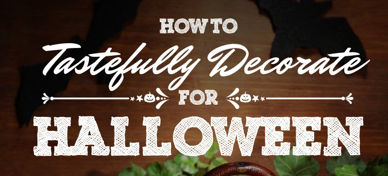 how to tastefully decorate for halloween thumb