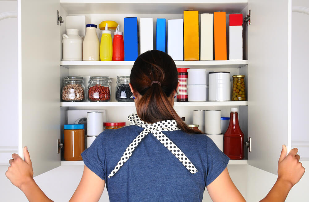 savings by organizing your kitchen