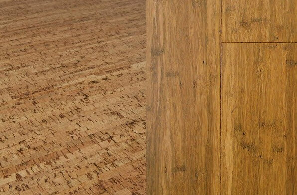 Sustainable floors new cork and bamboo flooring ideas for Sustainable cork flooring