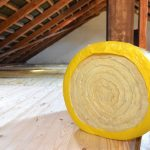 attic space insulation roll
