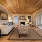 living room wood ceiling wood floors