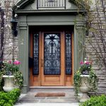front door stoop porch entrance elegant