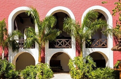 Spanish style arches