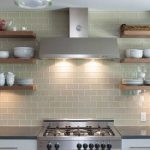 open shelving kitchen thumb
