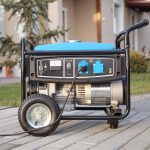 portable generator outside