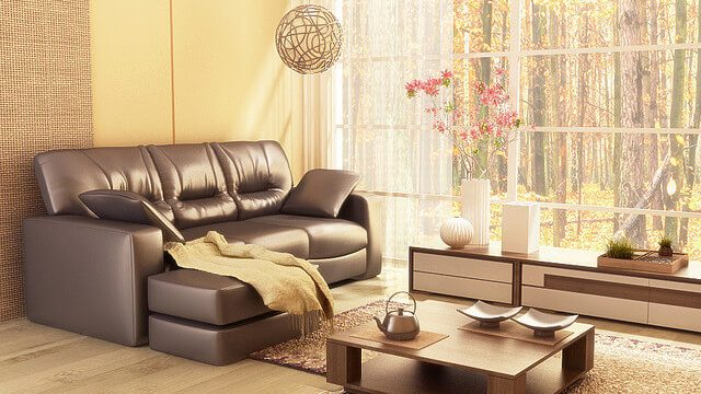 refined living room space