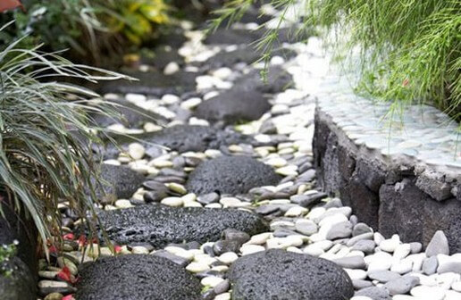 Creating a rock garden feature in time for spring for Creating a rock garden