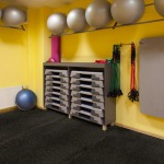 home gym rubber flooring