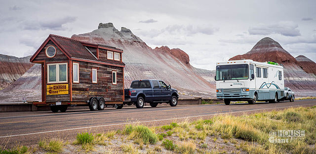 tiny home on the road