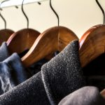 winter closet storage coats hangers