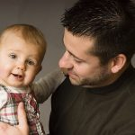 stay at home dad and baby