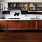 Brazilian walnut kitchen floor