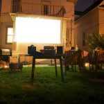 backyard outdoor theater