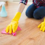 housecleaning wood flooring