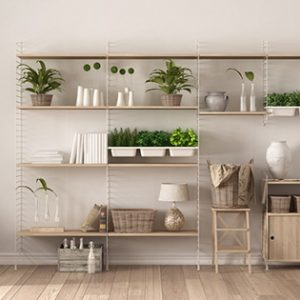 alternate uses for flooring make shelving