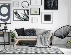 scandi style living room