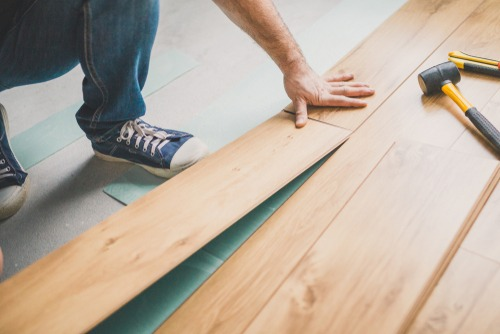 Build a floating floor