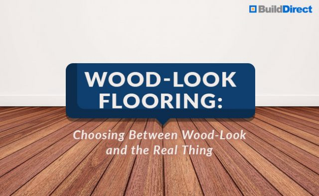 wood look flooring choosing between look and real