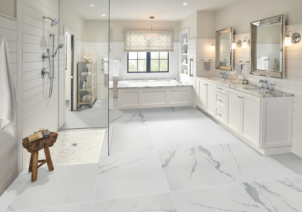 Design Tips For Matching Ceramic And Vinyl Floor And Wall Tiles Builddirect Blog