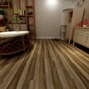 Vinyl flooring for changing home environments