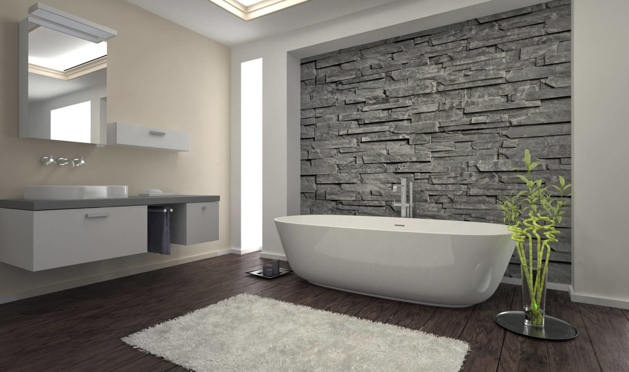 Explore Using Stacked Stone Veneer For Interior