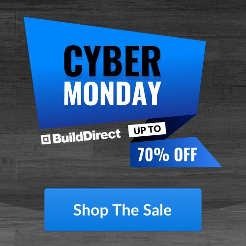 Cyber Monday BuildDirect Up to 70% Off