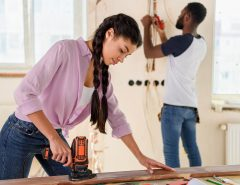 stay at home during renovations