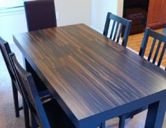 laminate flooring table top